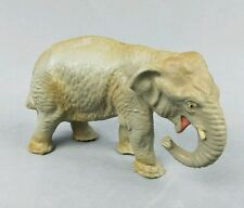 Vintage Elephant Putz Figurine Lineol Elastolin Austria Composition Austrian
