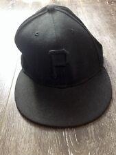 59 Fifty Originators Of The True Fitted 7 3/8 58.7cm Cap Hat EUC Black P