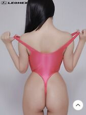 LEOHEX 2020 Second Skin Extreme Thong One Piece Swimsuit Leotard Not Realise.