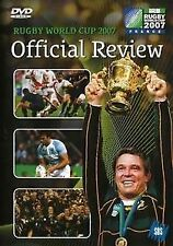 Rugby World Cup 2007 Official Review Brand New still Sealed DVD pal all region!
