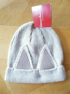 NWT HANNA ANDERSSON FOX CRITTER HAT EARS COTTON WOOL SMALL S 1-4 85 90 100