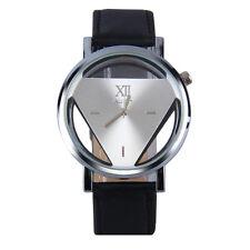 Fashion Mens Casio Sub-brand Luxury Leather Band Steel Quartz Analog Wrist Watch