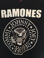 The RAMONES  1234 T-shirt - ORIGINAL - Classic Punk Rock Band -official tshirt