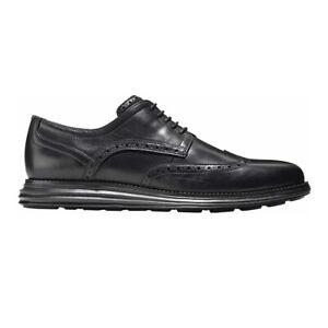Cole Haan Men's Original Grand Shortwing Oxford Shoes (Black, Size 9)
