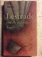 LESTRADE & THE GUARDIAN ANGEL - M. J. Trow (Hardback, 1999, Free Postage)