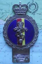 Vintage Car Mascot Badge : REME Royal Mechanical and Electrical Engineers GAUNT