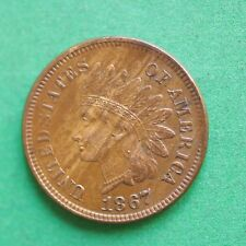 1867 USA Indian Head Cent SNo54160