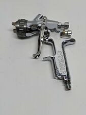 DeVilbiss Tekna Chrome Spray gun. Aircap 7E7, fluid nozzle: 1.4mm. Used. As-Is.