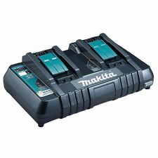 Makita 18 Volt Lithium-Ion 2 port Battery Charger w/ USB Charging Port  DC18RD