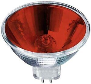 Pro-Lite 20w 12v GU4 20° Red Halogen Spot bulb MR11