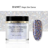 10ml BORN PRETTY Glitter Acrylic Powder Nail Art Decoration Star French Tips