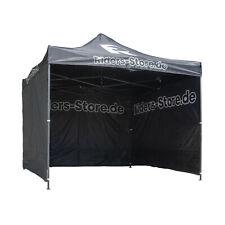 Riders Store Easy-Up Rennzelt Pavillon Expresszelt inklusive Seitenwände Zelt