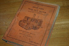 ALLIS CHALMERS HD14C Tractor Dozer Crawler Parts Manual Book catalog spare list
