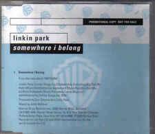 Linkin Park-Somewhere I Belong Promo cd single
