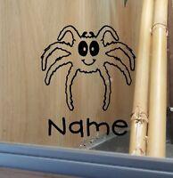 Tarantula Spider Customised Vivarium Decal Sticker