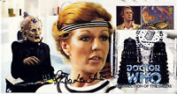 "Doctor Who ""Resurrection Of The Daleks "" Stamp Cover - Signed by RULA LENSKA"