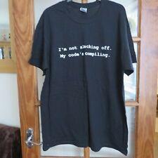 The IT Crowd. Black short sleeve Logo T/shirt size L BNWT