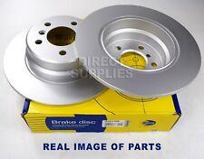 2 X REAR AXLE BRAKE DISCS FOR BMW X5 (E53) 3.0 4.4 2000 - 2006 COMLINE ADC1708