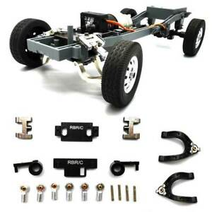 Replacement Upper Lower Swing Arm Steering Cup DIY Kit for WPL D12 1/10 RC Truck