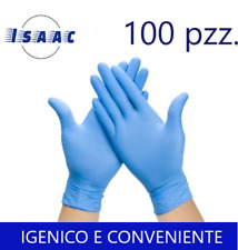 100 Guanti in Lattice Monouso Taglia M Igenici Comodi  Resistenti Touch Screen