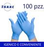 100 Guanti in Lattice Monouso Taglia M Igenici Comodi  Resistenti Touch Screen