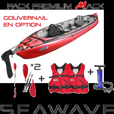 Pack kayak de mer gonflable GUMOTEX SEAWAVE 2 PLACES.