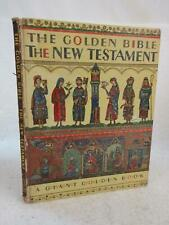 THE GOLDEN BIBLE FOR CHILDREN THE NEW TESTAMENT Giant Golden Book 1953 PROVENSEN