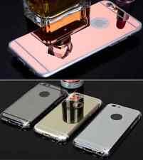 Funda para Iphone 5-5S,6,6S,6 6S plus,7,7plus silicona car espejo+opción cristal