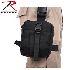 Drop Leg Medical Utility Pouch Black Medic EMS First Aid Pouch Rothco 20755