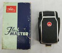 VINTAGE  Walz Flash Master Camera Flash With Original Box Circa 1950's