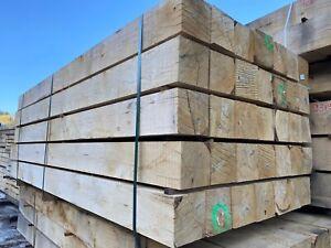 Oak Hardwood Fence Post Timber Bollards Gate Posts Wood Fencing Rail Solid Oak