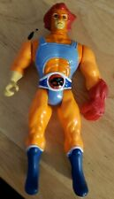 Thundercats Lion-O vintage figure. Red hair & glove Eye lights works