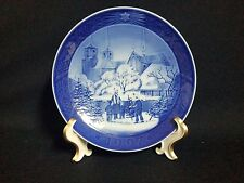 Royal Copenhagen  CHRISTMAS PLATE - ROSKILDE CATHEDRAL, 1997