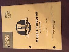 I&T MASSEY FERGUSON SHOP TRACTOR SERVICE MANUAL MF65 65