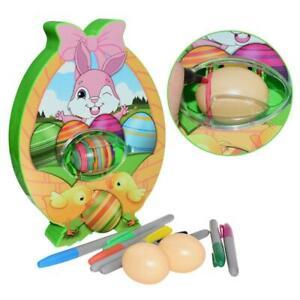 Easter Egg Decor Kit Egg Painting Dyeing Coloring Egg Decorator Kit