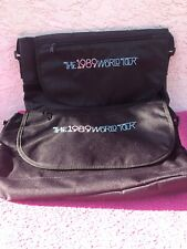 TAYLOR SWIFT VIP 1989 World Tour Travel Lap Top Bags Purses (Lot Of 2)
