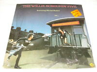 """Willie Burgundy Five """"On The Midnight Train From Boston"""" 1974 Rock LP, SEALED!"""