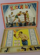GERMANY ORIGINAL VTG 'KNOCKOUT' BOXEN BOXING GERMAN BOARD GAME in BOX 1920's