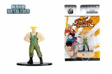 Street Fighter NEW * Guile * 99198 Jada Nano Metalfigs Diecast Figure Statue