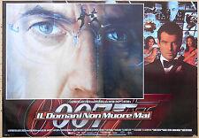 FOTOBUSTA 2, 007 BOND IL DOMANI NON MUORE MAI Tomorrow Never Dies FLEMING POSTER