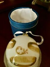 "12 Days of Christmas ""Five Golden Rings"" Dillards Collectable Ornament 2011"