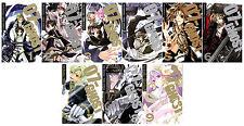 07-GHOST Series MANGA by Yukino Ichihara Collection Set Volumes 1-9!