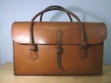 Beautiful Vintage Leather Cow Hide Satchel Bag