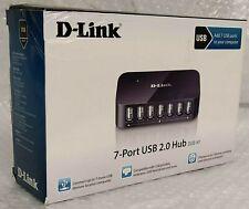 D-Link DUB-H7 7-Port USB 2.0 Hub - UK