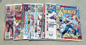 AVENGERS LOT(4.0-9.8)(VG TO NM/MT)17 ISSUES-MARVEL-IRON MAN-THOR-CAPTAIN AMERICA
