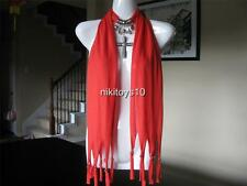 Pinkish Orange Fashion Jewelry Scarf w Decoration Cross Necklace Pendant B