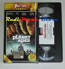 film VHS IL PIANETA DELLE SCIMMIE Roth PANORAMA planet of the apes (F16)no dvd**