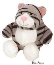 Animal Park 12.7cm Sitting Grey Tabby Cat - Soft Toy by Suki (Plush)