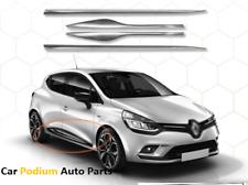 2012Up Renault Clio Iv 4 Hb Chrome Side Door Streamer 4Door 4Pcs S.Steel