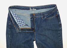 Boden Women's Jeans Sz 8L (29W x 32L) Stretch Denim Mid Rise Bootcut